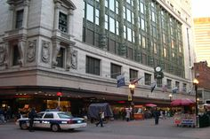 Filene's, Boston - My favorite place to shop for years! Especially the Boston store, which had 5 floors!