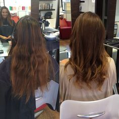 #brunette #color #colourmelting #blonde #hair by Shayln at #JoLsalon. Join our FREE Loyalty club - see all the details in our #OctoberNewsletter http://www.jarrattsoflondon.com/OctNewsletter/content.html #jolsalon #kerastase #unitefamily #loreal #hair #pointloma