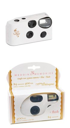 Disposable Cameras 177763 10 White Wedding Memories Table Camera Lot Q15640