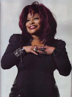 "Check out the legendary Chaka Khan rocking the ""Naomi"" Dress in Upscale Magazine! Celebrity Mugshots, Celebrity Portraits, Upscale Magazine, Nicki Minaj Pictures, Chaka Khan, Sexy Older Women, Ebony Beauty, Celebs, Celebrities"