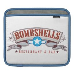 Bombshells iPad Sleeve