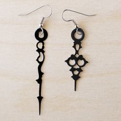 Handmade Gifts | Independent Design | Vintage Goods Victorian Clock Piece Earrings - i love her!