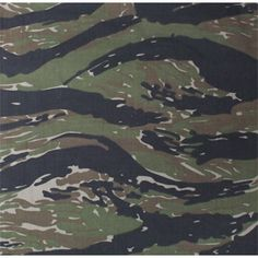 Apparently, the French military had a very similar pattern called lizard stripe. The US military started out in Vietnam using the same Olive Drab from and Korea. Eventually, they started issuing this.