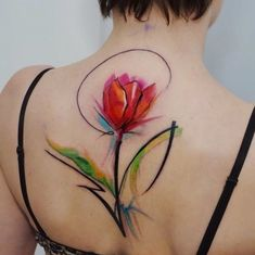 Awesome tulip tattoo.....❌❌❌ discovered by Mone