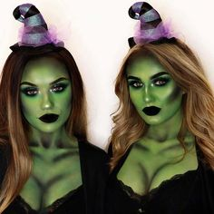 43 Best Witch Makeup Ideas for Halloween | Page 4 of 4 | StayGlam Witch Face, Too Faced, Halloween Face Makeup, Instagram, Products, Make Up, Gadget