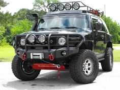 Toyota FJ cruiser...wish mine looked this cool.