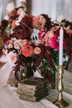 Packed with pinch-yourself-prettiness ideas that dance the line between rustic garden and industrial big city wedding romance for the fall season. Warm Colour Palette, Warm Colors, Color Palettes, Rustic Garden Wedding, Rustic Gardens, Strictly Weddings, Wedding Table Decorations, Happy Wife, Fall Season