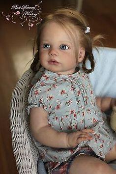Reborn girl toddler *Limited SOLD Out kit Gabriella by Regina Swialkowski *IIORA