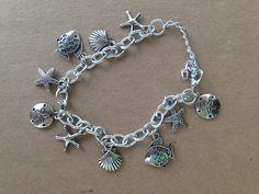 sea inspired charm bracelet $15