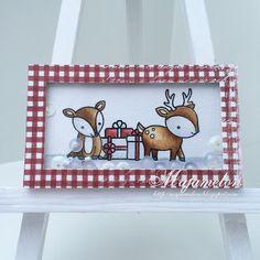 christmas shaker match box