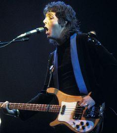 Paul McCartney, 1976... Saw him three times!  Sigh....