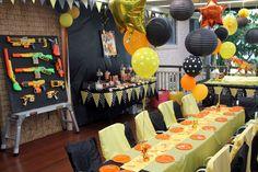 Nerf Birthday Party Ideas   Photo 19 of 25