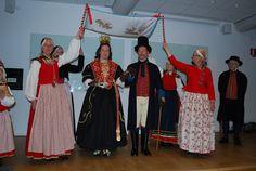 Toarpsdräkt- Wedding costumes from Toarp, Sweden.