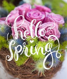 Spring is here! Enjoy your day.  #thefloralcottageflorist  #spring2016 #springishere #hellospring