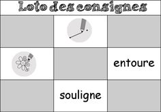 Travailler sur les consignes au CP Projects To Try, Classroom, Aide, English, Reading Games, Small Groups, Class Room, English English, English Language