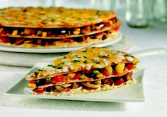 Veg Tripple Decker- #EveryBodyTuckIn #Pizzas #Food #Cravings #Cheese #Toppings #Delicious #Yummy