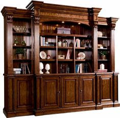 Sligh Furniture Antique Bedroom Set – Home Bedroom Furniture, Home Office Furniture, Sligh Furniture, Home, Bookcase With Glass Doors, Bookcase, Classic Furniture, Lexington Home, Traditional Home Office Furniture