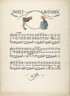 """Sweet Lavender"" Paul Vincent Woodroffe (British (born India), Madras 1875–1945 Eastbourne)  Date:     1906–7"