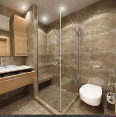 Small bathroom decoration examples in Resultado de imagen- Resultado de imagen de küçük banyo dekorasyonu örnekleri Small bathroom decoration examples in Resultado de imagen - Ensuite Bathrooms, Downstairs Bathroom, Bathroom Renos, Bathroom Layout, Bathroom Interior, Master Bathroom, Bathroom Design Small, House Design, Home
