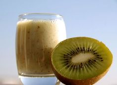 Vitamin C Smoothie Recipe - Healthy Fruit Smoothie Recipe - Kiwi Banana Smoothie