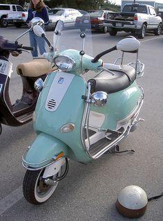 Vespa ET4 custom by Bagel!, via Flickr