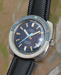 FS Vintage Dive Watch - Wakmann - FME Electronique Image 1