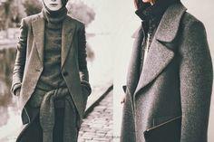 Grey on Grey - Cool Chic Style Fashion