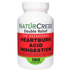 NaturCress uses all natural ingredients to prevent occasional heartburn from acidic foods and big meals. Don't let heartburn keep you awake at night. Enjoy dishes that trigger heartburn with a serving of NaturCress before. Only supplement with garden cress seed and zinc for heartburn relief. Live better with NaturCress before meals and bed. Natural Heartburn Relief, Acid Indigestion, Acidic Foods, Big Meals, Drugs, Herbalism, Dishes, Live, Night