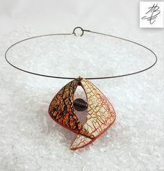 polymer clay jewelry by Martina Burianova, Czech Republic