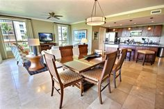 Open Kitchen Living Room Floor Plan Kbm Hawaii Honua Kai Hkk Luxury Vacation Rental At