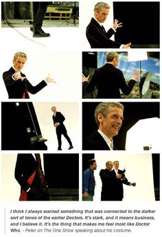 """17 Reasons Peter Capaldi Will Save """"Doctor Who""""--- I love this, it shows how awesome Peter is except """"Doctor Who"""" doesn't need saving. Doctor Who, Twelfth Doctor, Eleventh Doctor, Rory Williams, Don't Blink, Peter Capaldi, Torchwood, Time Lords, David Tennant"""