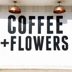 Coffee & Flowers #food #foodporn #foodies