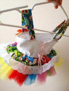 Yo Gabba Gabba TuTu Dress  Custom Sizing by SillyFrillyTuTus, $45.00