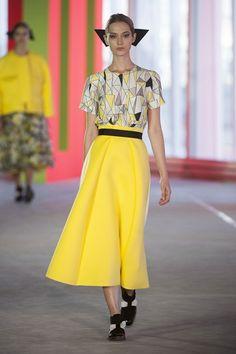 Roksanda  Moda Primavera Verano 2014. Tendencias