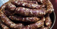 Μόλις μάζεψα τα λουκανικάκια μου που είχα φτιάξει την περασμένη εβδομάδα και είναι τέλεια!! Σε λίγο θα μπουν σε σακουλάκια και μετά στην... Greek Recipes, Sausage, Meat, Food, Sausages, Essen, Greek Food Recipes, Meals, Yemek