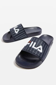 Baywood Sliders by FILA - Shoes- Topshop