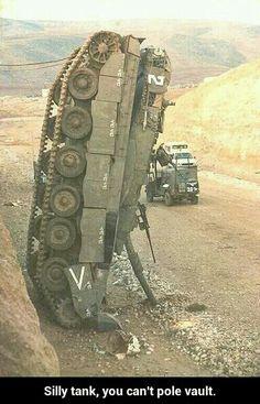 Military humor (Tank)