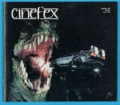 1991 CINEFEX #46 - GREMLINS 2/BTTF RIDE/RICK BAKER/DICK SMITH