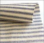 Navy Blue Stripe Ticking (per metre) Blue Stripes, Navy Blue, Flannel Dress, Blue Quilts, Ticks, Dress Making, Fabric, Cotton, How To Make