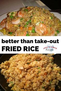 """""""I have made this recipe several times since pinching it. We love it! Tastes just like one of our Japanese steakhouse restaurants. Thanks so much for sharing... now my family can have Chinese take-out without leaving the house!"""" #friedrice"""