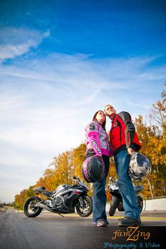 Motorcycle Engagement Session by FamZing Photography & Video