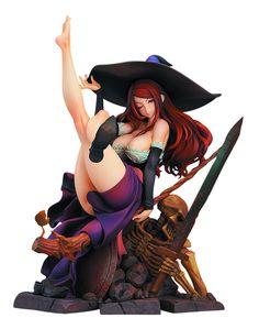 Amazon.com: Max Factory Dragon's Crown: Sorceress PVC Figure (1:7 Scale): Toys & Games