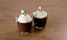 Budino al cioccolato di Halloween
