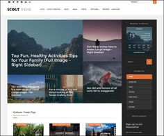 Scout Adventure / Activity #Blog #WordPress Theme : https://webdesignshare.com/2016/scout-adventure-activity-blog-wordpress-theme/
