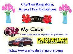 City Taxi Bangalore, Airport Taxi Bangalore | Flickr - Photo Sharing!