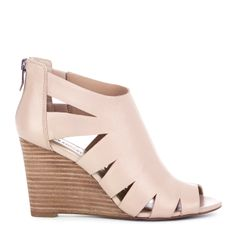 Blush Wedge  (these are some kind of awesome.. I still like nice shoes...even if it would kill me if I tried to walk in something like this now!!  LOL)