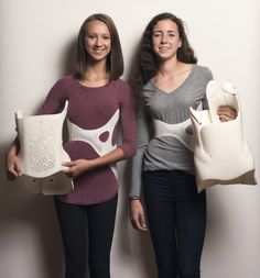 """3D-printed back brace offers """"fashionable"""" solution for scoliosis sufferers"""
