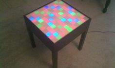 It is easy and super cool to make. Yeah, Yeah, I know that there are some other Instructables out there on how to build a light up table, but this one is different....
