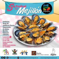 La tan esperada 5ta Feria del Mejillón sera este domingo 8 de Octubre en la Guardia a partir de las 10:00 am #EventosEnLaIsla