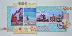 Darla Weber- Vacation Layout Kit